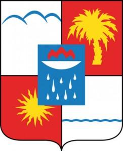 Die Flagge von Sotschi